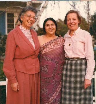 Hilda Kuper, Fatima Meer and Gisele Maquet, 1984-5
